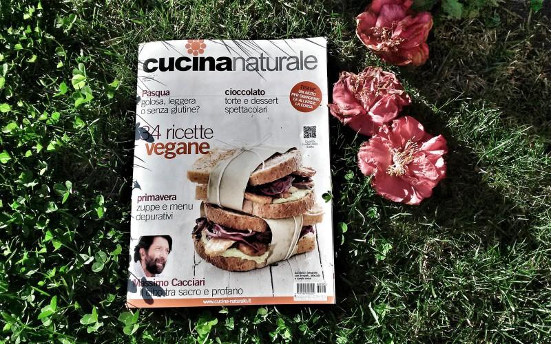 Cucina naturale di marzo in edicola agoranews