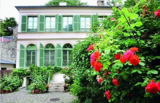 Paris mon amour agoranews - Jardin du musee de la vie romantique ...