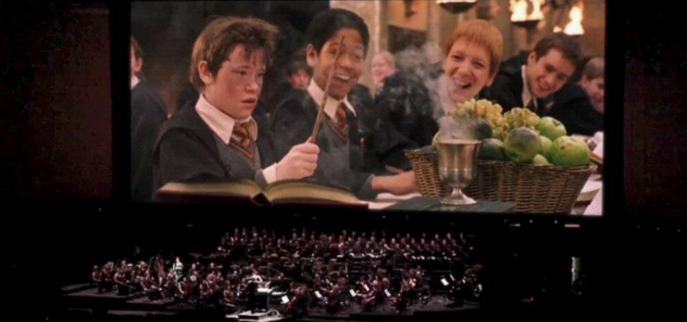 Harry potter e la pietra filosofale in concerto agoranews - A tavola con harry potter ...