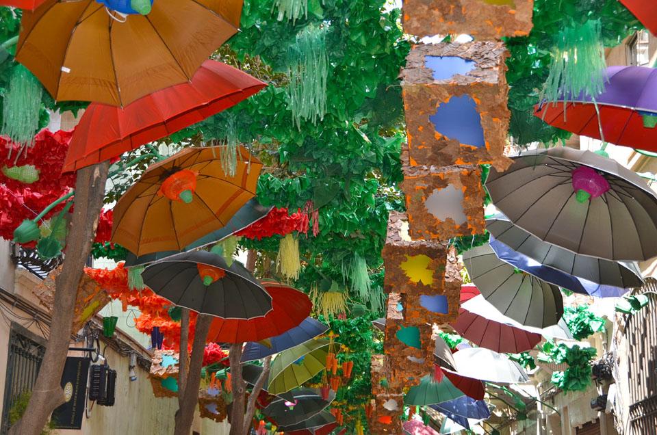 Barcellona la festa major de gr cia agoranews for Quartiere gracia barcellona