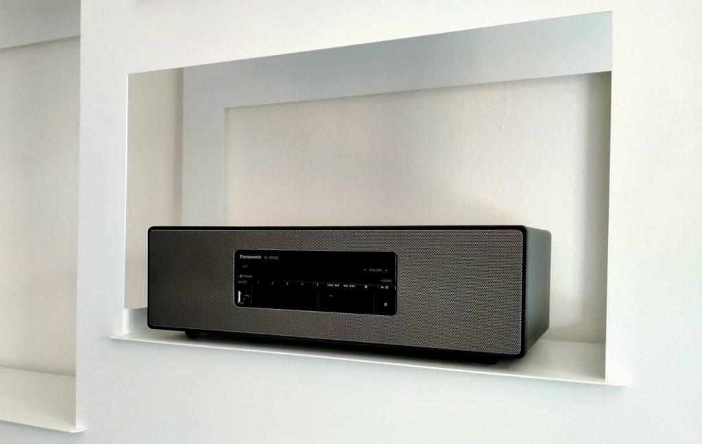 sistema stereo panasonic